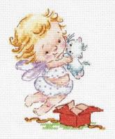 Набор для вышивки крестом Чудесная игла 35-23 Люблю подарочки!