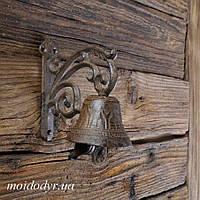 Дверной чугунный колокол 70 х 130 х 140 мм