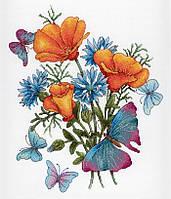 """""""Ароматы любимых цветов"""" М.П. Студия. Набор для вышивки крестом (НВ-653)"""