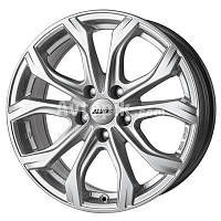 Литі диски Alutec W10 R20 W9 PCD5x112 ET35 DIA66.6 (racing black front polished), фото 1