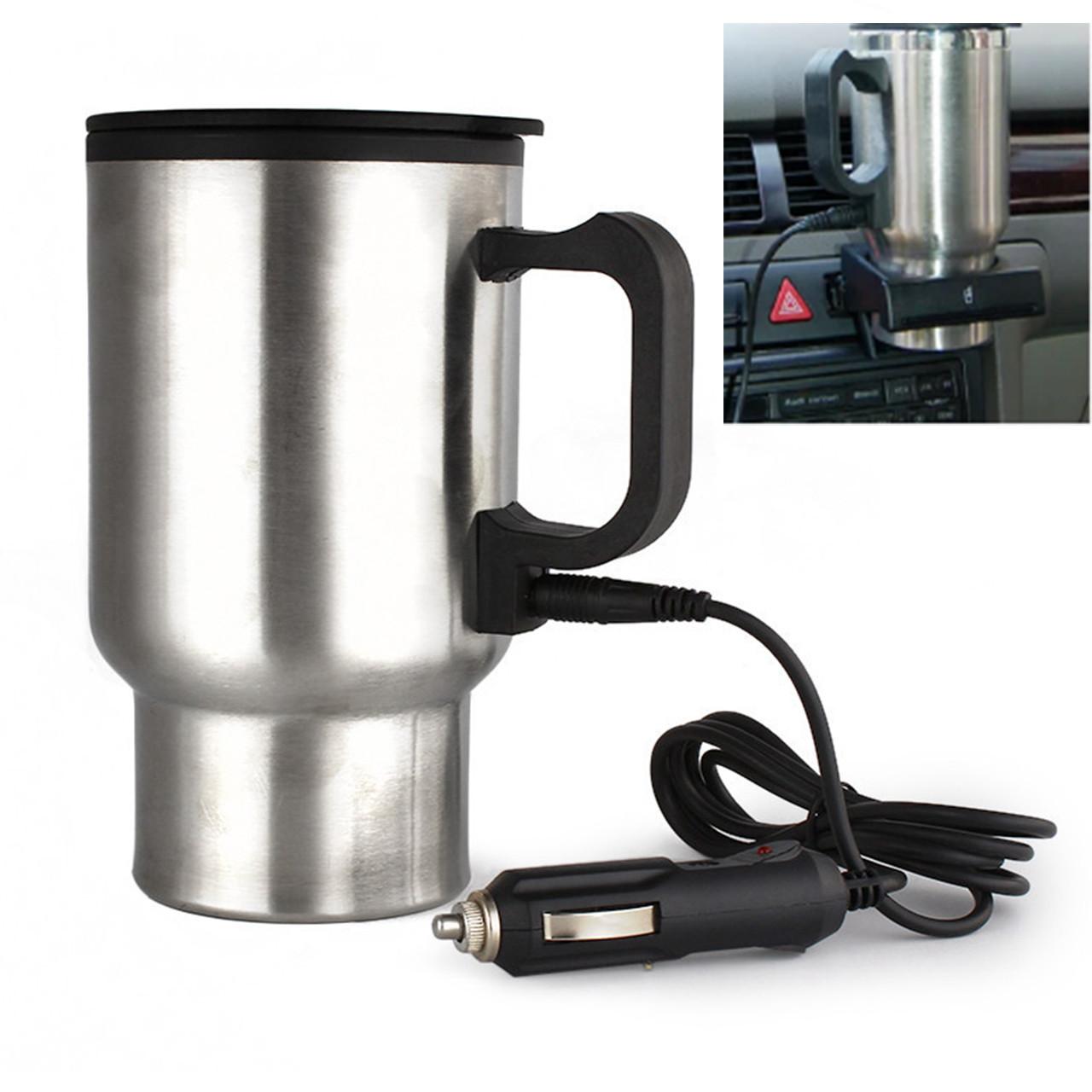 Автомобільна термокружка з підігрівом Electric Mug CUP 2240