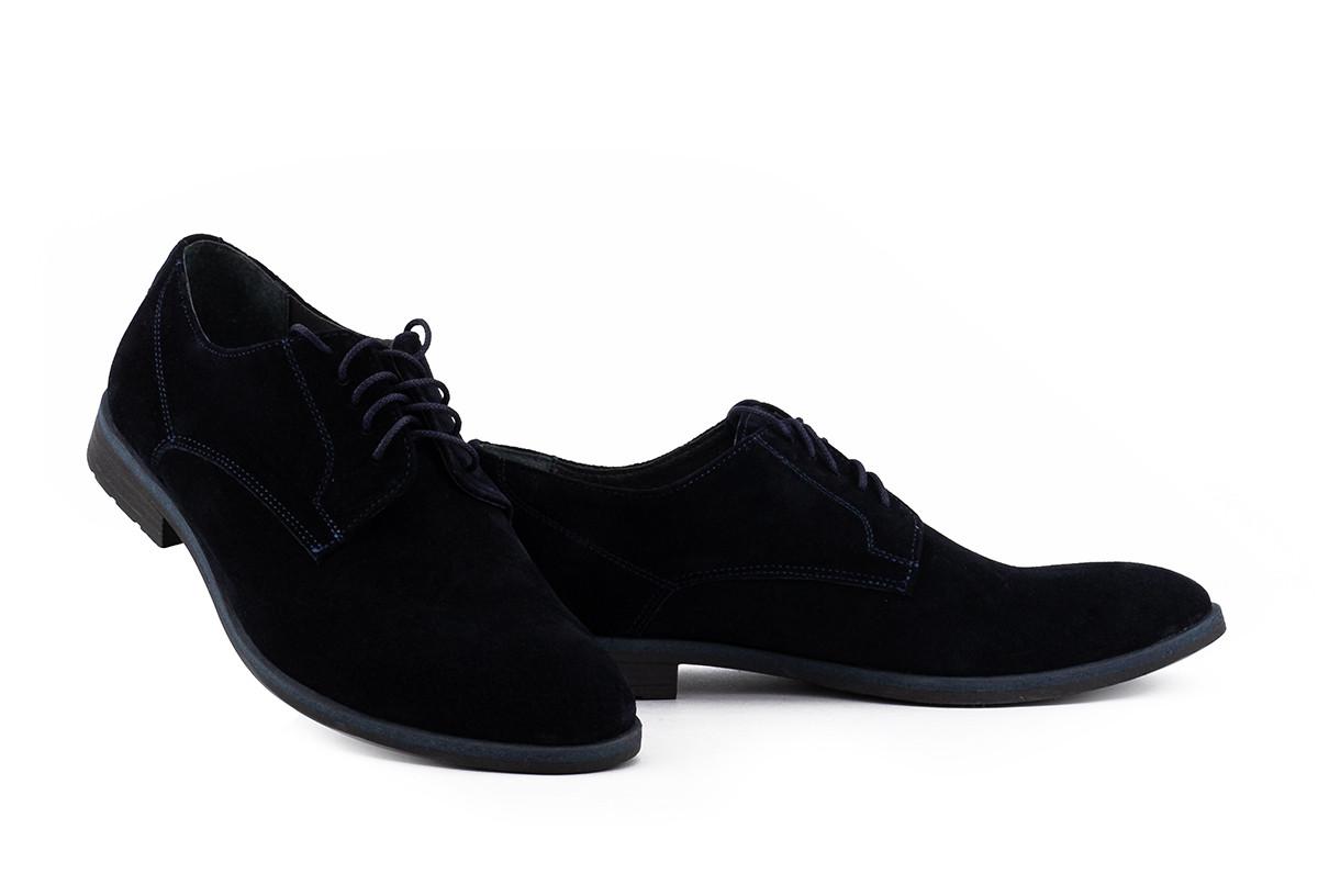 Чоловічі туфлі з натуральної замші