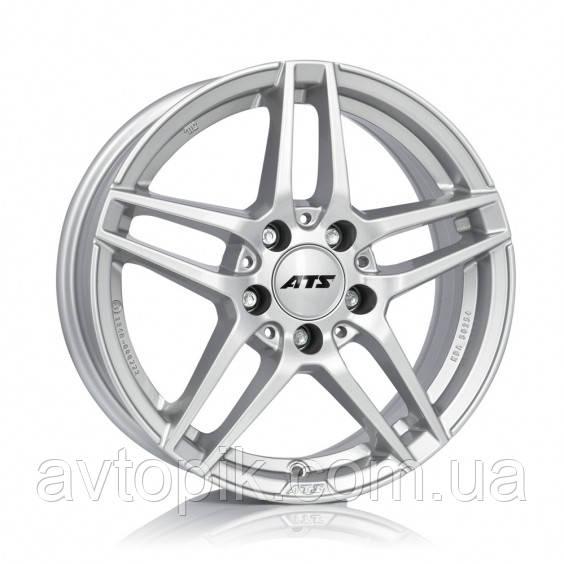 Литые диски ATS Mizar R18 W8.5 PCD5x112 ET34.5 DIA66.6 (polar silver)