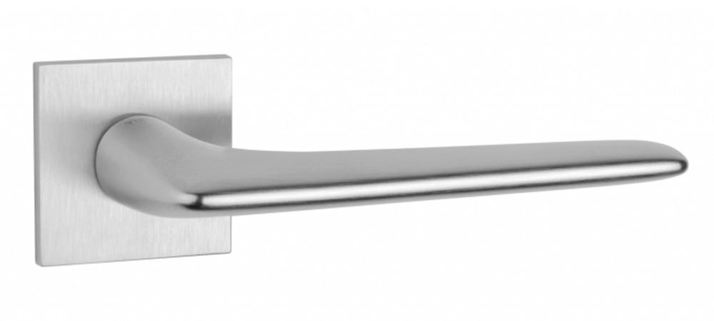 Ручка для двери на розетке Tupai 4164 5SQ хром матовый (Португалия)