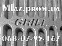 Решетка гриль чугунная для барбекю и мангала  BBQ GRILL PRO 590*390 мм