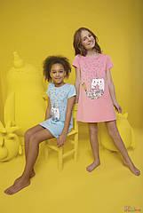 ОПТОМ Ночная рубашка со сказочной зверушкой для девочки 2-3 лет (2-3 года)  Donella 8697840567958