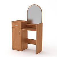 Туалетный столик в спальне. Трюмо 1 компанит. Трюмо-1: ш: 856 мм. в: 1390 мм г: 390 мм