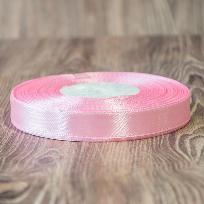 038 -Атласная лента 33м 12мм розовый