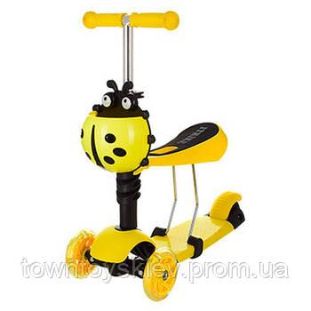 Самокат JR 3-016 (Yellow)