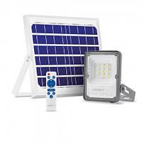 LED прожектор на солнечной батарее автономный Videx 10W 5000К VL-FSO-205
