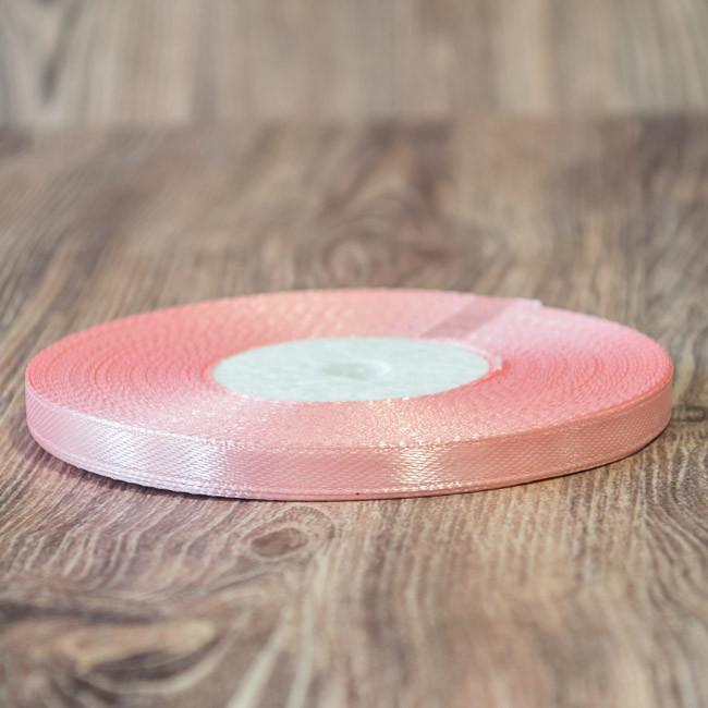 034 - Атласная лента 33м 07мм розовый