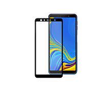 Защитное 3D стекло Full Cover для Samsung A7 2018 A750 Black (1881)