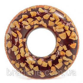 Надувной круг Intex 56262 Пончик шоколадный