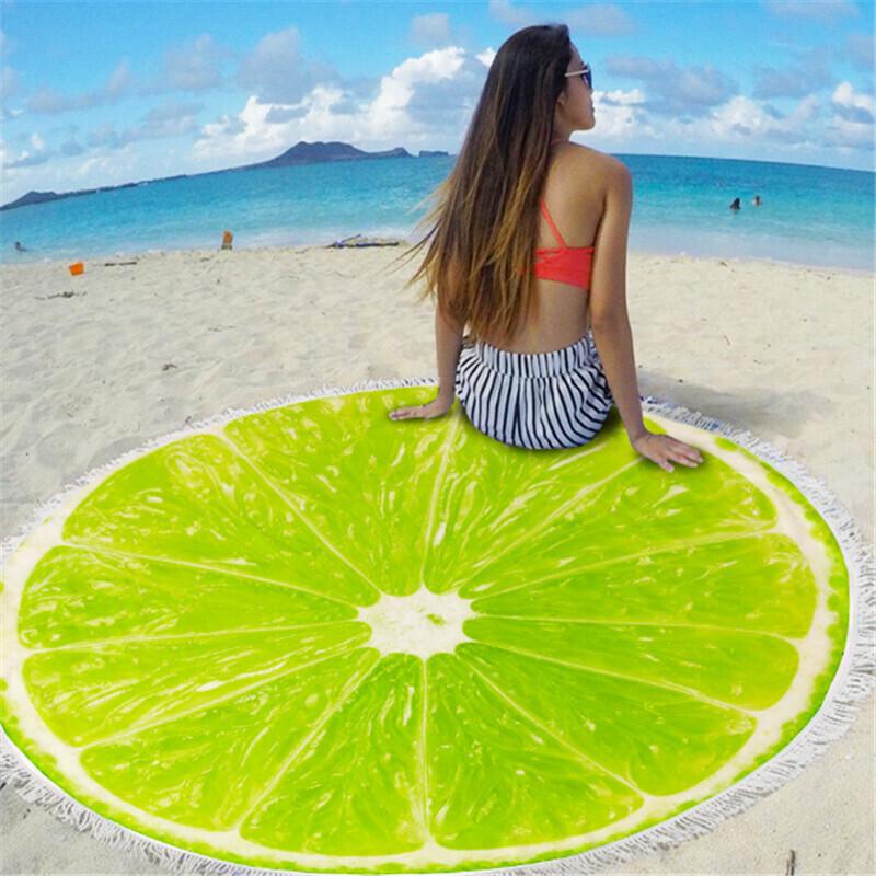 """ЛЕТНЯЯ НОВИНКА! Невероятные, сочные и яркие трендовые полотенца для пляжа и пикника ткань """"Микрофибра"""" 6"""