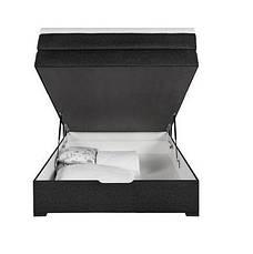 Кровать PROGRESS sofas&beds Амелия Boxspring 132х211 см Черный , фото 2