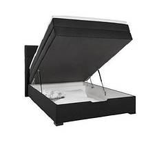 Кровать PROGRESS sofas&beds Амелия Boxspring 132х211 см Черный , фото 3
