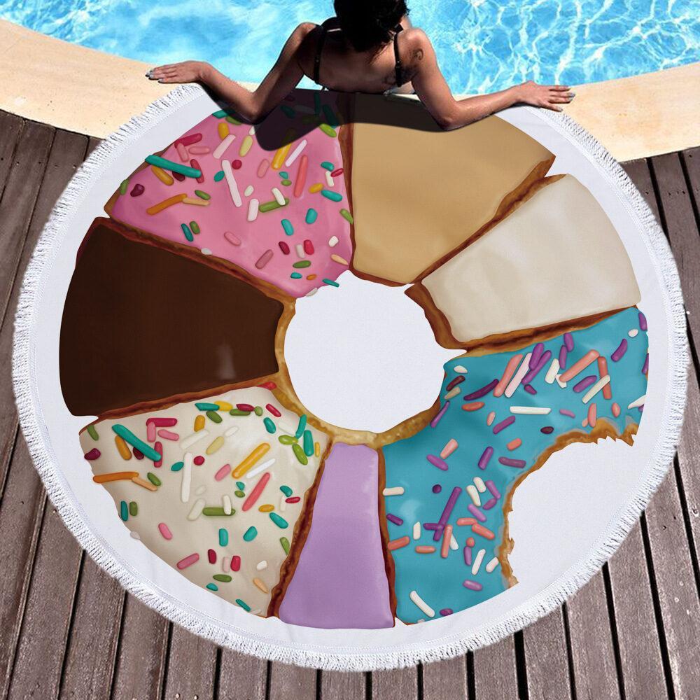 """ЛЕТНЯЯ НОВИНКА! Невероятные, сочные и яркие трендовые полотенца для пляжа и пикника ткань """"Микрофибра"""" 8"""