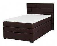 Кровать PROGRESS sofas&beds Спейс Boxspring 131х211 см Шоколадный