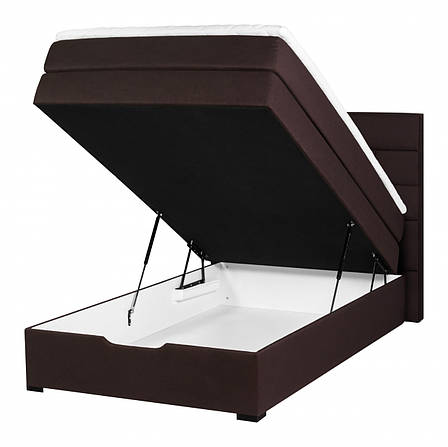 Кровать PROGRESS sofas&beds Спейс Boxspring 131х211 см Шоколадный , фото 2