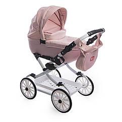 Коляска для куклы Broco Mini Avenu 2020 11 розовый