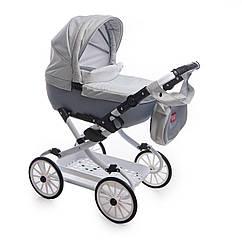 Коляска для куклы Broco Mini Avenu 2020 12 серый