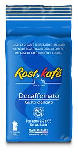 Кава мелена Decaffeinato 250 гр ТМ Rostkafe