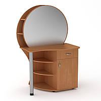 Туалетный столик с зеркалом. Трюмо 3 компанит. Трюмо-3: ш: 957 мм. в: 1432 мм г: 598 мм