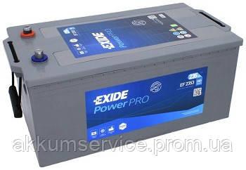 Аккумулятор грузовой Exide Power PRO 235AH 3+ 1300А (EF2353)