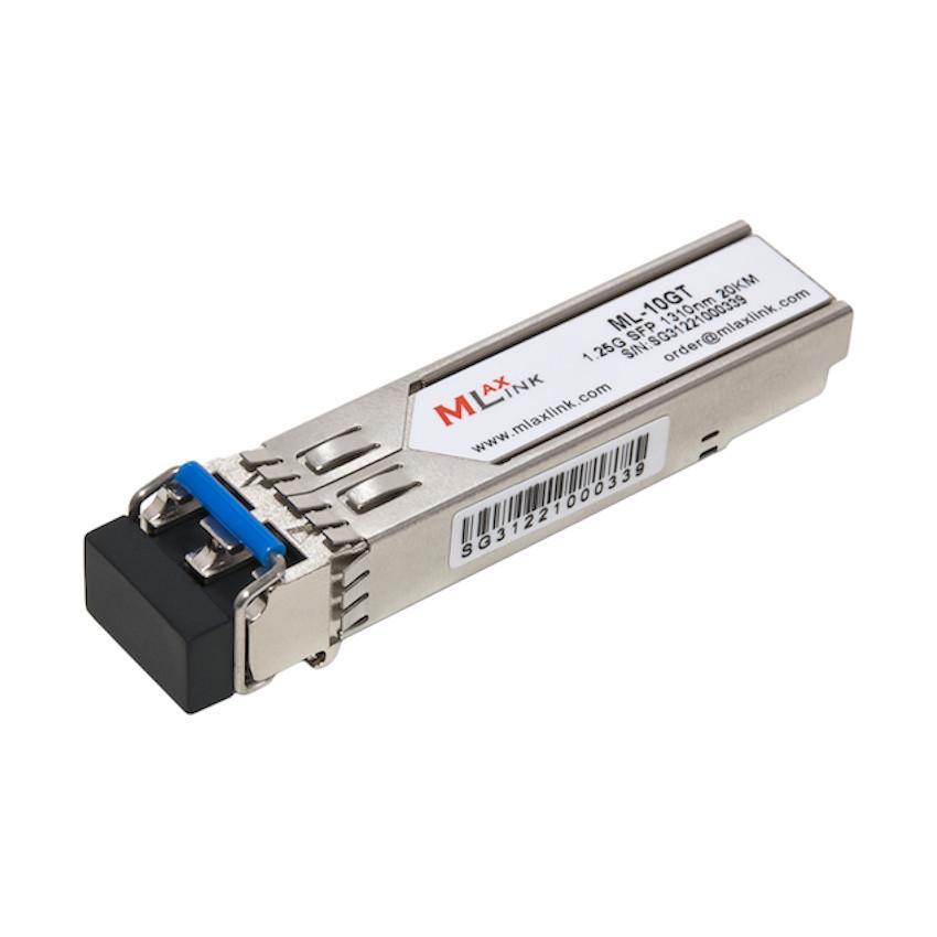 Модуль MlaxLink оптичний двухволоконный SFP-1.25 Гб/с-20км-1310нм 2xLC (ML-10GT)