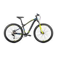 """Велосипед SPELLI 29"""" SX-6200 2020 рама 19"""" чорний/зелений"""