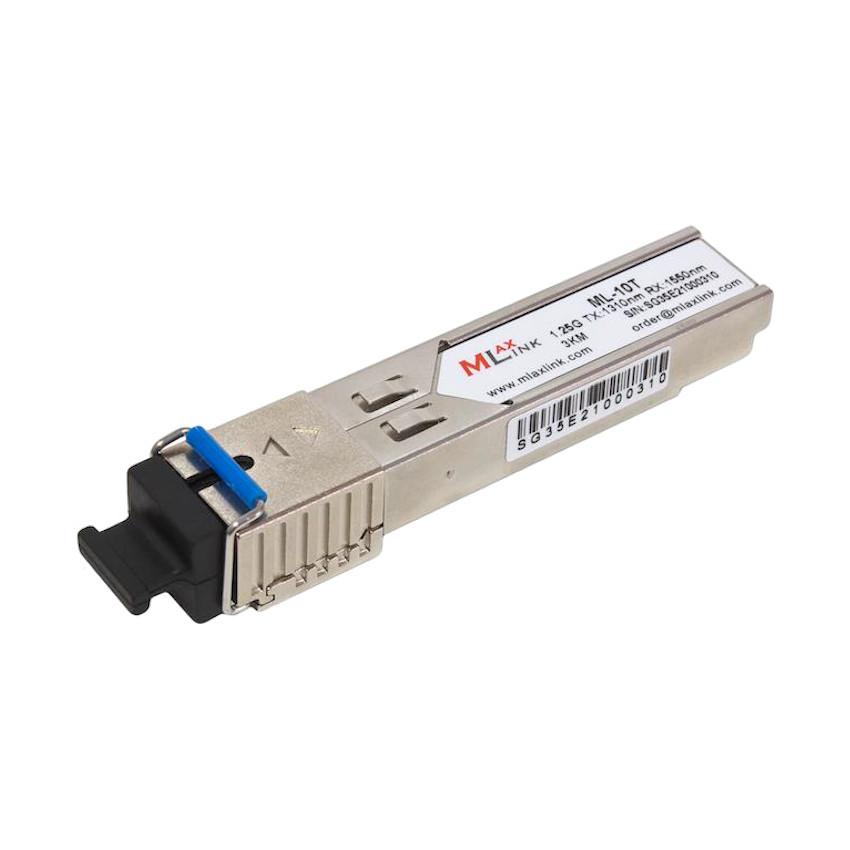 Модуль MlaxLink оптичний одноволоконный SFP-WDM-03 км-1310/1550 нм-1.25 Гб/с (ML-10T)
