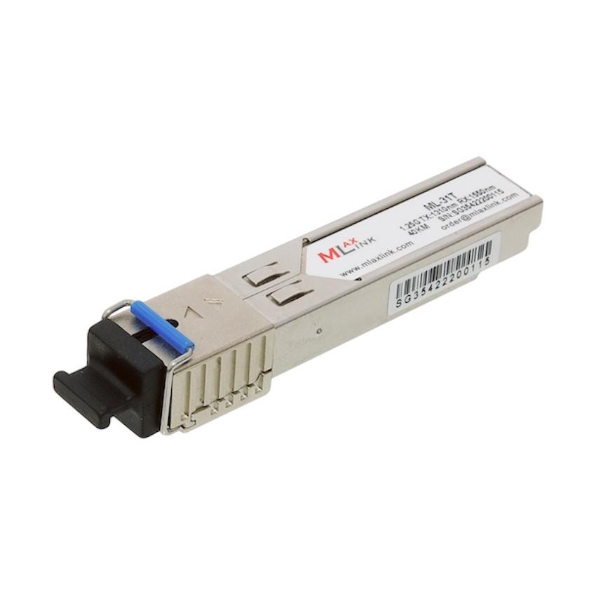 Модуль MlaxLink оптичний одноволоконный SFP-WDM-40 км-1310/1550 нм-1.25 Гб/с (ML-31T)