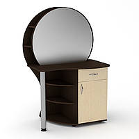 Туалетный столик венге. Трюмо 3 компанит. Трюмо-3: ш: 957 мм. в: 1432 мм г: 598 мм