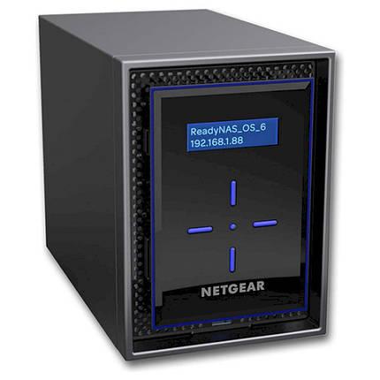 Мережний накопичувач Netgear ReadyNAS RN422 (RN42200-100NES), фото 2