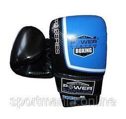 Рукавички снарядні Power System PS 5003 Bag Gloves Storm S Black/Blue