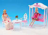 """Мебель """"Gloria"""" для терассы,качеля,столик,2 стула, в кор. /36-3/"""