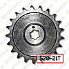 Звезда задняя ведомая Муравей z=21 под цепь ИЖ 520-104