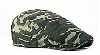 Кепка хулиганка котоновая камуфляжная мужская, фото 1