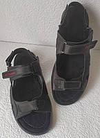 Кожаные мужские босоножки сандали шлепки Columbia большого размера 46, 47, 48, фото 1