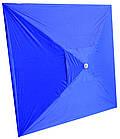 Зонт квадратный с ветровым клапаном, Синий, 3 х 3 м., фото 2