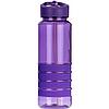 Пляшка для води з трубочкою Smile SBP-1 750 мл. Фіолетова