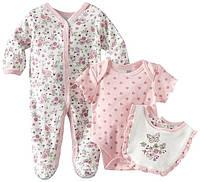 Комплект для новорожденного (человечек, боди, слюнявчик) Vitamins Baby. Размер: 0-3 мес.; 3-6 мес