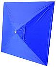 Зонт квадратный с ветровым клапаном, Синий, 3 х 3 м., фото 10