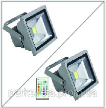 Прожектор LED 20w RGB+пульт IP65 1LED LEMANSO / LMP20-RGB