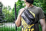 Мужская сумка бананка (через плечо или на пояс), фото 8