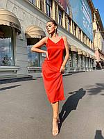 Сукня червона