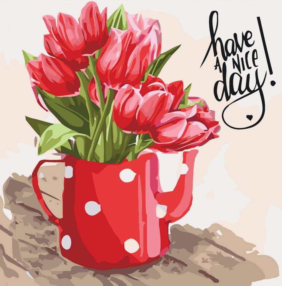 "Картина по номерам. Art Craft ""Have a nice day"" 40*40 см 12108"
