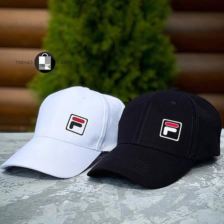 Кепка в стиле Fila 2 Black&White 2 цвета в наличии, фото 2