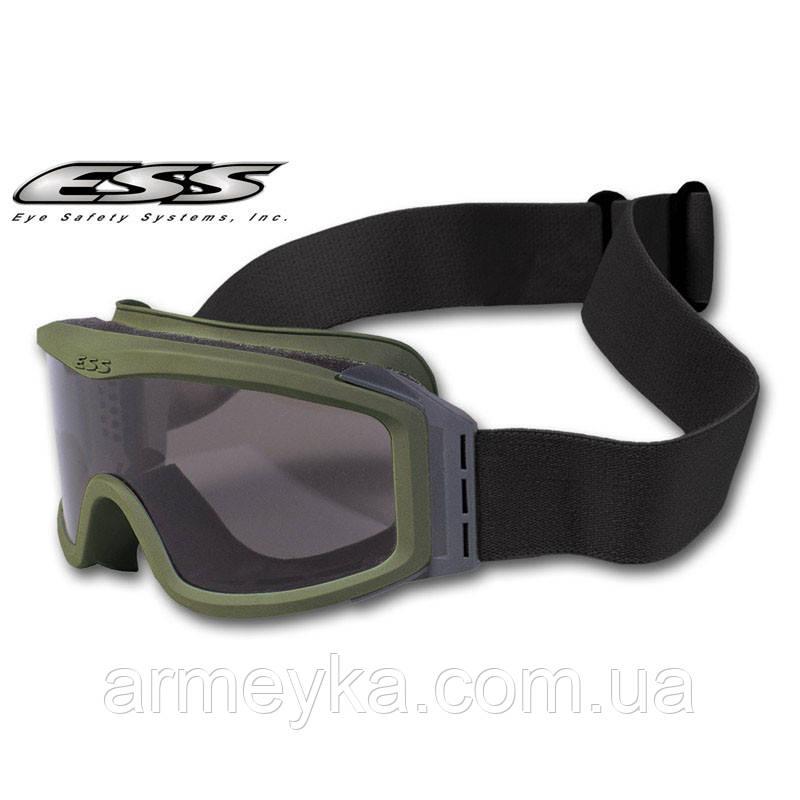 Маска захисна ESS Profile NVG Goggles, olive (2 лінзи). Оригінал.