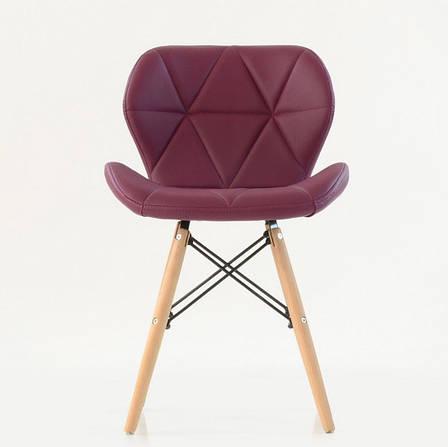 Стул Invar (Инвар)   ЭК экокожа ,цвет пурпурный 61, фото 2